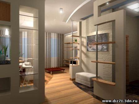 Дизайн квартиры в туле